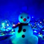 Ponožkový sněhulák